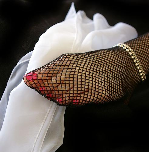 Fetiche por meias de nylon - 5 2