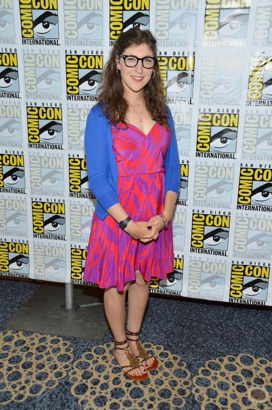 """The Big Bang Theory"" Press Room - Comic-Con International 2012"